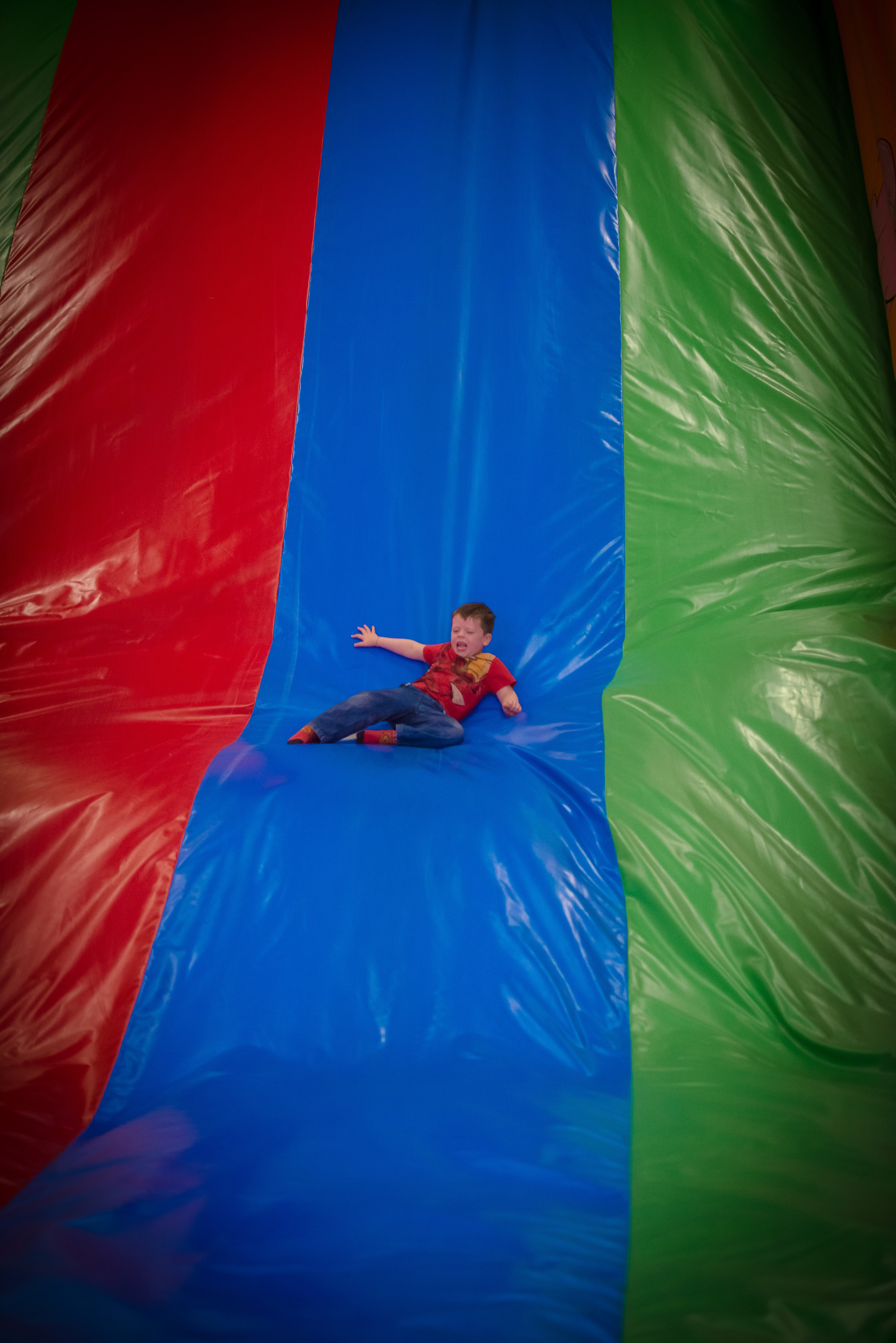 Inflatable City At Turoe Pet Farm Galway
